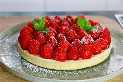 recette tarte aux fraises facile en 3 233 hervecuisine