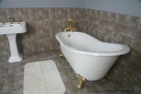 cast iron slipper clawfoot tub classic clawfoot tub