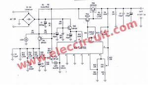 Variable Power Supply Circuit  0