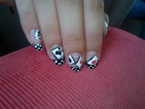 Nail art: Playing cards by Meandmybirds on DeviantArt
