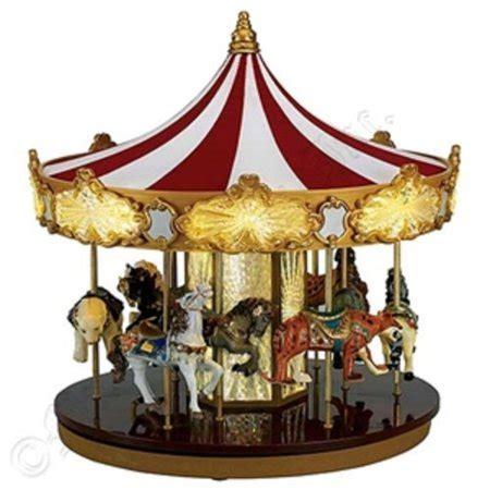 christmas animated musical celebration carousel