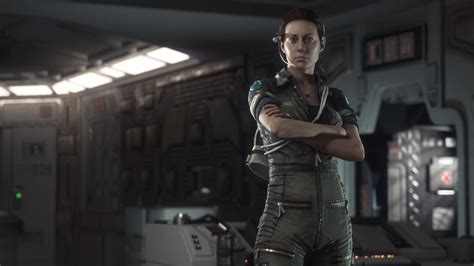 Alien Isolation Gameplay And Screens Reveal Amanda Ripley