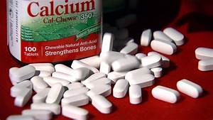 Calcium Supplements Linked To Longer Lifespans In Latest