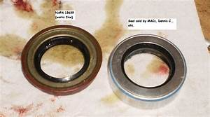 3 Speed Rear Output Seal