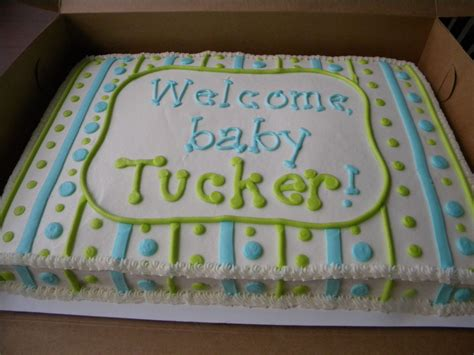 Baby Shower Sheet Cakes For by Baby Boy Shower Sheet Cake Cakes Baby Shower Sheet