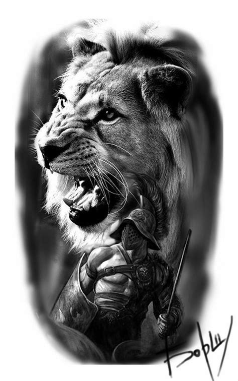 Pin by Gagan Sampla on Tattoo | Lion tattoo, Gladiator tattoo, Warrior tattoos