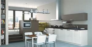 grand meuble cuisine meuble cuisine angle brico depot With meuble cuisine couleur taupe 10 ilt central de cuisine dautrefois dessus zinc