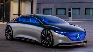 Mercedes BenzCar : Mercedes-benz Reveals Eqs Electric Concept Sedan