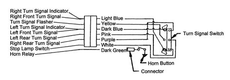 57 Chevy Turn Signal Wiring Diagram by 57 Turn Signal Bar Wiring Trifive 1955 Chevy 1956