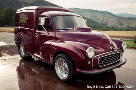 1961 Morris Minor Cargo Van Panel Truck, $45k Custom 850
