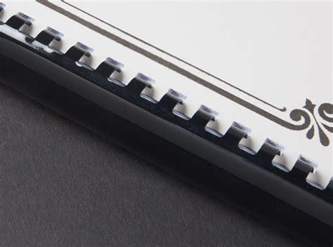 Plastic Comb Binding - Binding Edge