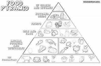 Pyramid Coloring Pages Colorings