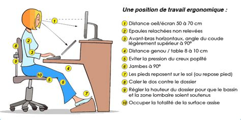 chaise de bureau ergonomique dos cervicalgie etirements conseils d 39 hygiènes agde hérault