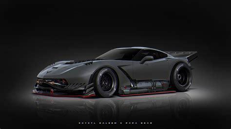 Crazy C7 Corvette!  Stancenation™  Form > Function