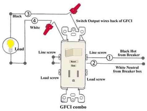 Wire Schematic Switch Schematic Combo Diagram Power To Constant by Combination Switch Outlet For The Cabinet Lights