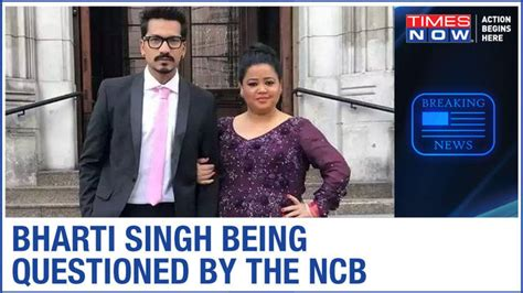 Comedian Bharti Singh at NCB office for questioning ...
