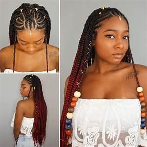 Coiffure Tresse Africaine : 14 fulani braids styles to try out soon coiffures ~ Nature-et-papiers.com Idées de Décoration