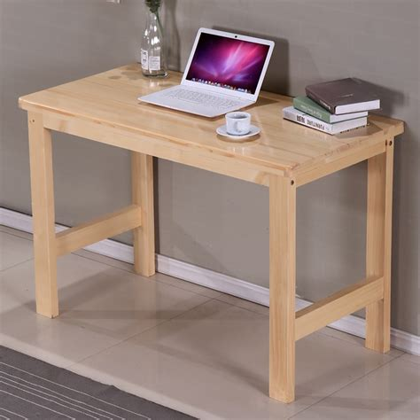 Cheap Study Desk by Cheap Package Custom Wood Home Computer Desk Desktop Pine