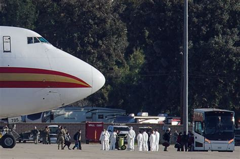 U.S. evacuees from China placed on 72-hour 'hold' at ...