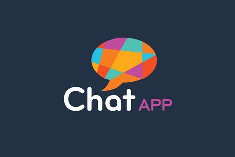 app logo design chat app logo design template for in uk