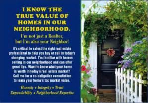 Neighborhood Real Estate Postcards