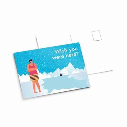 Postcard Printed Versatile Perfectly Effective Impact Simple