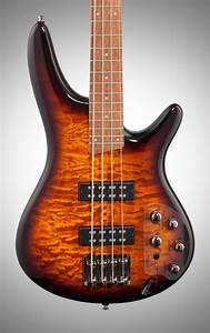 Ibanez Sr400eqm Electric Bass  Dragon Eye Burst