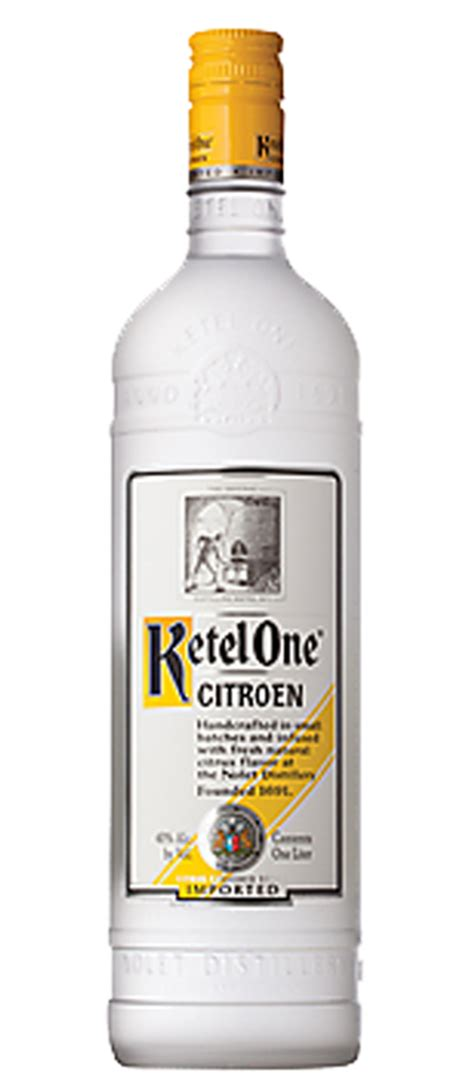 Citroen Vodka by Ketel One Citroen Vodka 750 Ml Shop Twee