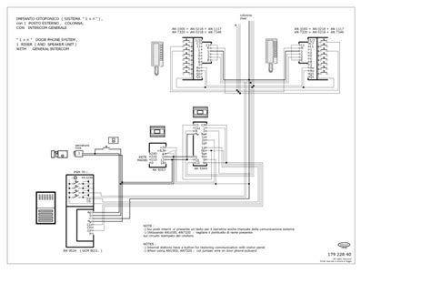 elvox intercom wiring diagram collection wiring diagram sle
