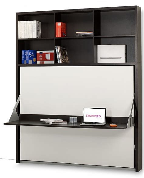 desk with pull down cover dotto work station desk bed from smart beds murphy beds