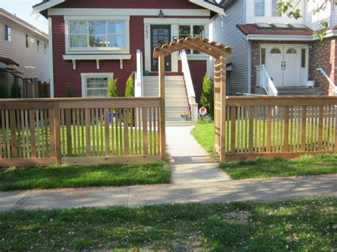 fences for yards front yard fence vancouver b c modern other metro