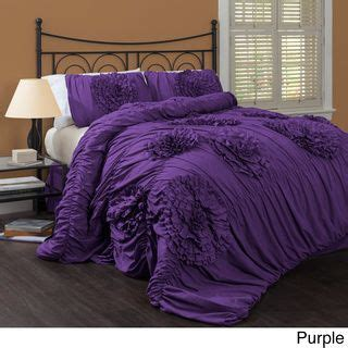 lush decor serena 3 piece comforter set by lush decor