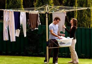 Portable Umbrella Stand by Clothesline Specialists Retractable Rotary Racks