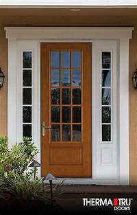 therma tru fiberglass doors 14 best images about Fiber-Classic Oak Collection on ...