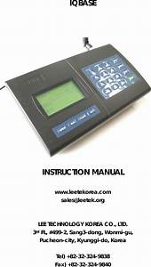 Jtech An Hme Iqbase Guest Paging System User Manual Wdc