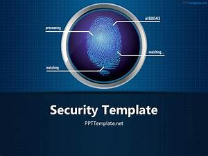 Free Finger Print Circle 1 Ppt Template