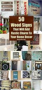 50, Wood, Signs, That, Will, Add, Rustic, Charm, To, Your, Home, Decor