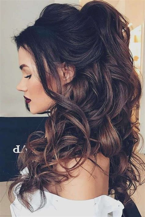 15 collection of wedding guest hairstyles for long curly hair