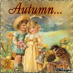 autumn vintage children Picture #130528330 | Blingee.com