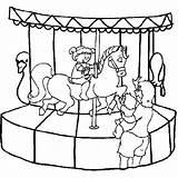 Park Coloring Amusement Picgifs sketch template