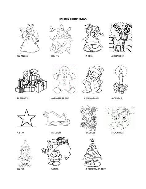 worksheets merry christmas christmas 2013