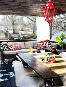 Styl Deco Veranda : id e d co veranda en style boh me et chic ~ Premium-room.com Idées de Décoration