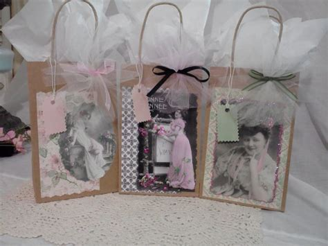 shabby chic gift bags 17 best images about shabbychic gift bags n tags on pinterest bags handmade tags and shabby chic