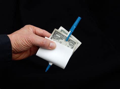 Easy Magic Trick Pen Through Bill