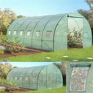 Serre Tunnel De Jardin : grande serre de jardin tunnel 7 arceaux pro gal achat ~ Melissatoandfro.com Idées de Décoration
