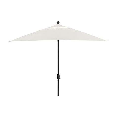 rectangular sunbrella 174 white sand patio umbrella with