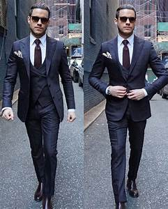 Costume Bleu Marine Homme : costume pour homme les derni res tendances en 50 photos ~ Melissatoandfro.com Idées de Décoration