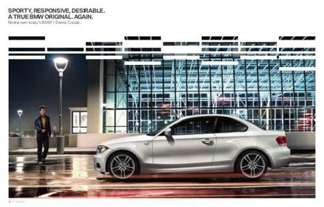 2013 Bmw 1 Series Coupe Brochure Ky  Louisville Bmw Dealer