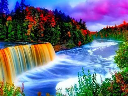 Background Colorful Waterfall Wallpapers Wallpapers13