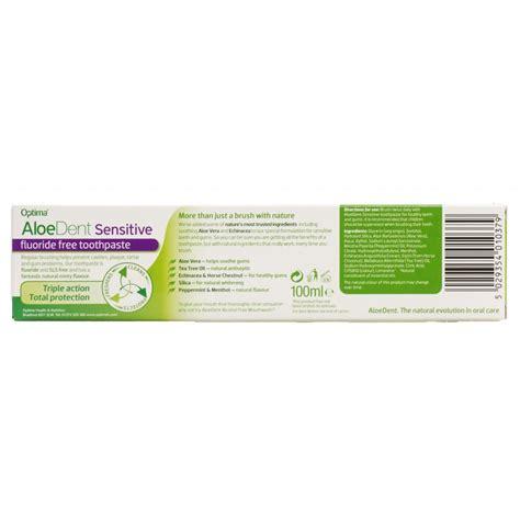 sambucol for aloe dent sensitive aloe vera fluoride free